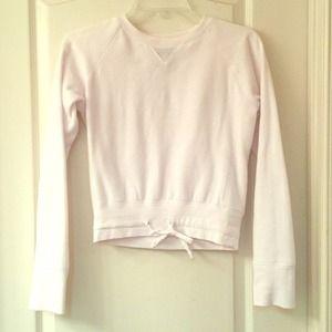 White Active Sweatshirt