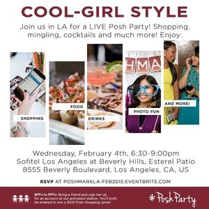 You're Invited: LIVE Los Angeles Posh Party!