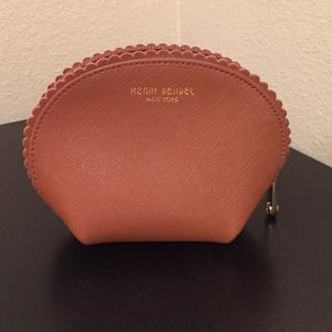 henri bendel Accessories - Henri Bendel New York Pouch in brown leather