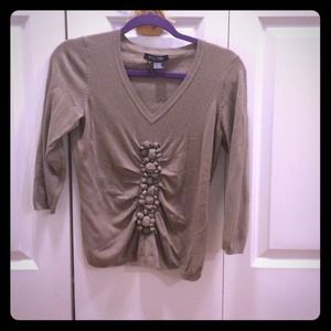 Beige stone sweater