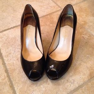 Cole Haan peep toes pumps