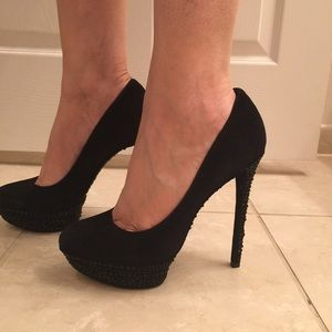 Brian Atwood Shoes - Brian Atwood Suede Leather BFFfrancoise!