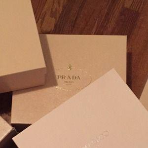 prada yellow purse - Prada - *SALE* Pink Prada shoe box (m) from Patricia's closet on ...