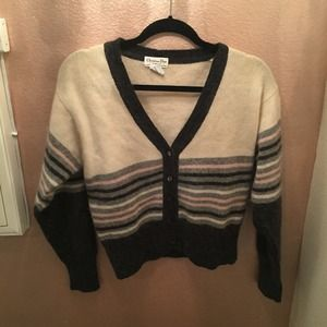 Dior Striped Cardigan Sweater