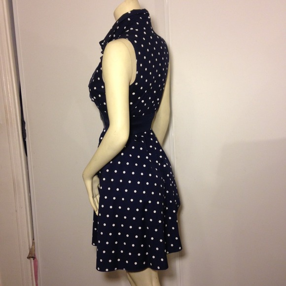 69% off Bailey Blue Dresses & Skirts - Polka Dots Dress ...