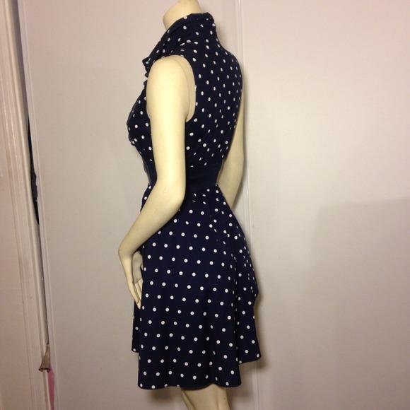 69% off Bailey Blue Dresses &amp- Skirts - Polka Dots Dress ...