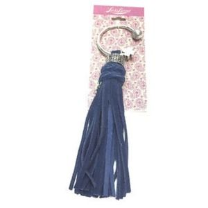Lucky brand tassel key purse hanger