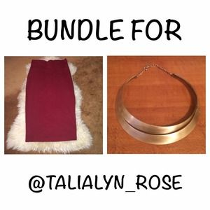 Dresses & Skirts - BUNDLE for @talialyn_rose