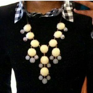 Pretty bubble statement necklace