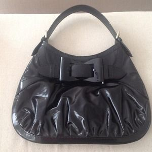 Gucci black dialux Queen medium bag