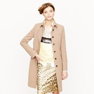 J crew double cloth lady coat thinsulate