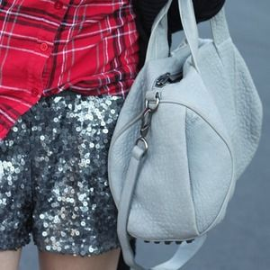 Madewell Pants - Madewell Silver Sequin Shorts