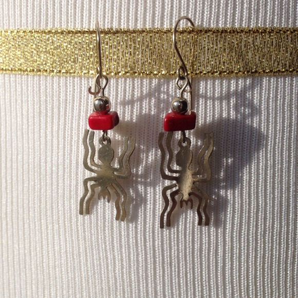 SOLD In Bundle🚫 Aztec Spider Earrings OS From Bev's Closet