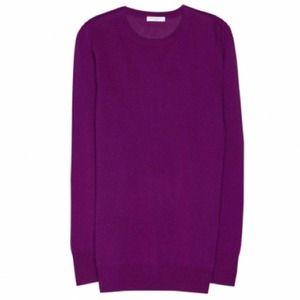 Equipment grape cashmere sweater