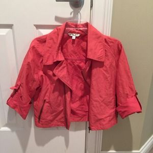 CAbi coral moto scooter jacket