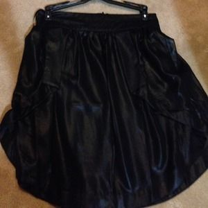 Asos Asymmetrical Sheer skirt
