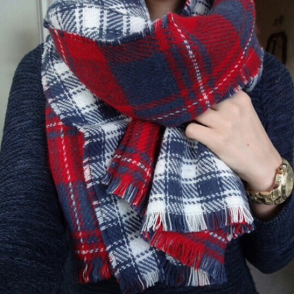 Abercrombie Fitch Accessories Abercrombie Fitch Womens: Abercrombie Woman's Duofold Plaid