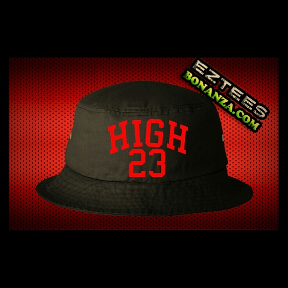 0a132047e KYC Vintage very rare Air Nike high 23 bucket hat