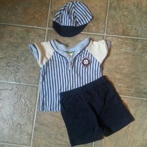 Other - Baby boy 0-6m. 3 piece outfit
