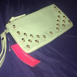 Skull embellished Clutch