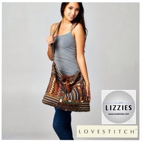 Love Stitch - ❗️SOLD OUT❗️LOVE STITCH Colorful Boho Satchel ...