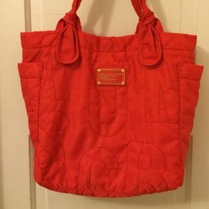 Marc by Marc Jacobs Nylon Red tote
