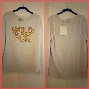 Wildfox White Label Sequin Sweater
