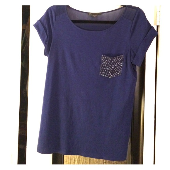 60 off armani exchange tops armani exchange t shirt for Armani exchange t shirts wholesale