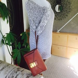 Louis Vuitton brown Epi leather clutch bag