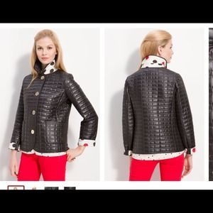 NWOT Kate Spade quilted jacket size small