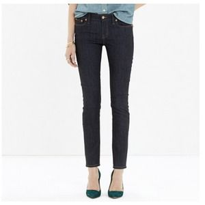 Alley straight jeans - raw wash - Madewell - 24