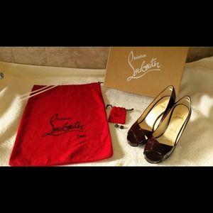 7001fb74f10b Christian Louboutin Shoes - AUTHENTIC Christian Louboutin criss cross PUMPS