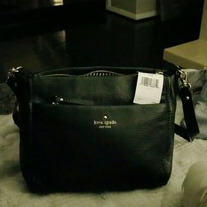 Kate Spade Cobble Hill Black 100% authentic