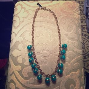 NWT J.Crew green necklace