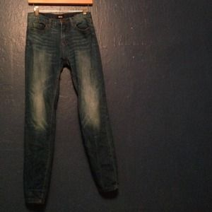 Urban outfitters cigarette high rise jeans