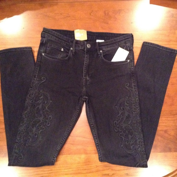 Slim Homme H&m H&m Pants New h m Black