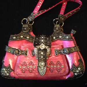 NWOT Pink purse