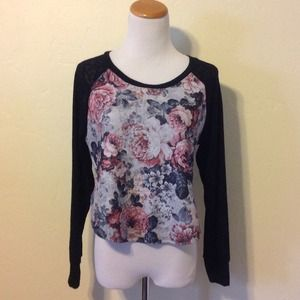 Ambiance Apparel Tops - 2 for $15 ⭐️ Rose Print Shirt