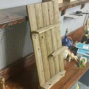 Other - Shelf made from reclaimed wood fence