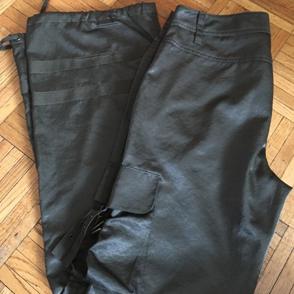 80% off Express Pants - Express Forest Green Cargo Pants from ...