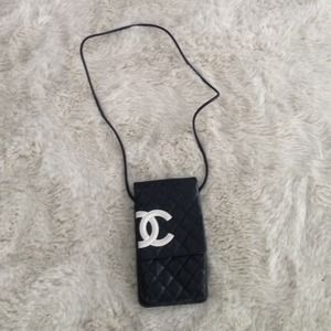 Vintage shoulder/messenger Chanel bag