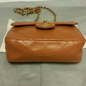 5dd0e8e0f04c2a CHANEL Bags | Authentic Classic Flap Quilted Bag Camel | Poshmark