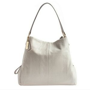  Auth Coach madison small phoebe shoulder bag