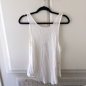 Free People Hole Distressed Shirt