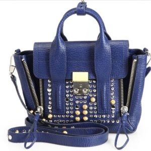 3.1 Phillip Lim Lapis Studded Mini Pashli