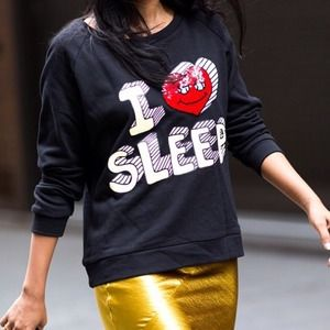 Unknown japanese brand  Sweaters - I love sleep sweatshirt