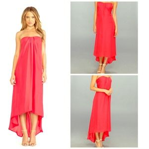 Blush BB DAKOTA Midi Maxi A Line Cape Dress NWT