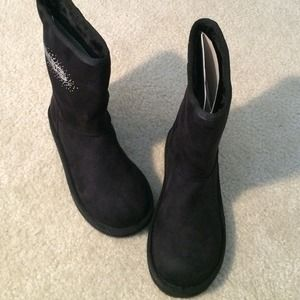 Bebe scarpe   Crystal Encrusted Sabrina  Stivali  Sabrina  Poshmark fa83fb