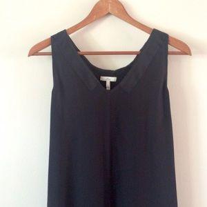 Joie   Silk Tank Black Dress
