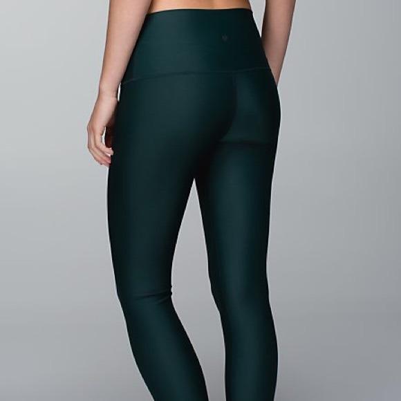 bb5a406650 lululemon athletica Pants - SALE Lululemon Fuel Green Shine High Tights
